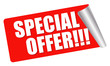 red sticker - special offer!