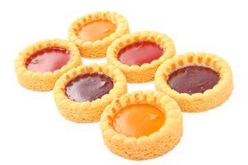 Assortiment de biscuits fruits
