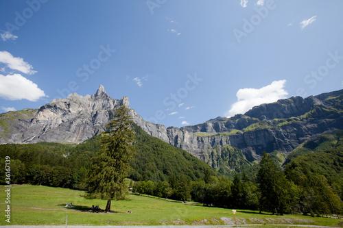 Papiers peints Alpes sixt fer a cheval