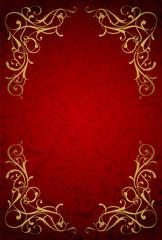 赤と金の背景