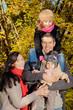 family autumn fall