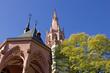 Neugotische Rochuskapelle bei Bingen (Rheinland-Pfalz)