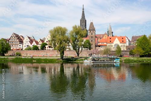Stadtpanorama von Ulm