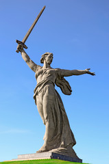 "World War II memorial ""Motherland Calls"" Volgograd, Russia"