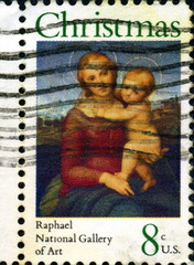 Christmas. Raphael, National Gallery of Art. US.