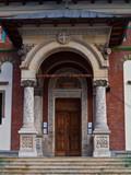 Entrance into Sinaia Monastery poster