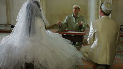 Nikah of Crimean Tatars in Mosque