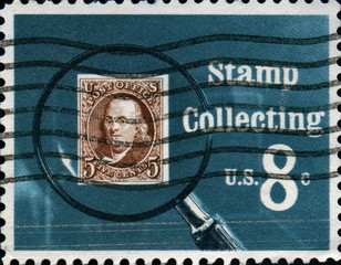 Stamp Collecting. Us.