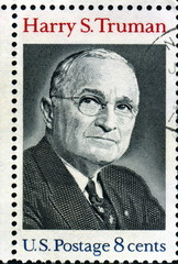 Harry S Truman. Us PostageS