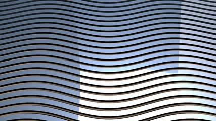 Metallic Grid Motion Background