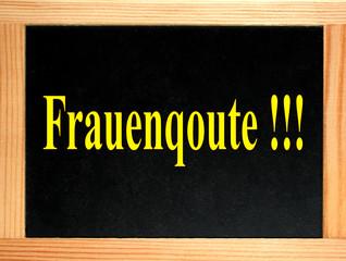 schild: frauenquote