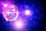 Fototapety disco ball_flashing lights