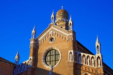 italie, venise, cannaregio : église de la Madonna dell'Orto