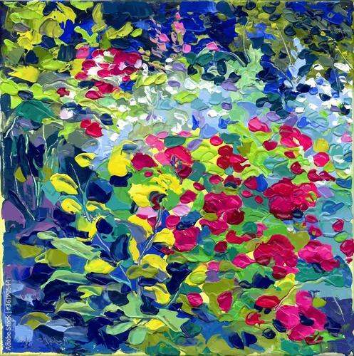 Zdjęcia na płótnie, fototapety na wymiar, obrazy na ścianę : oil painting vector illustration