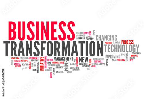 """Word Cloud """"Business Transformation"""""""