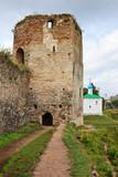 Izborsk Fortress in Pskov Oblast, RF poster