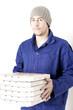 freundlicher Pizzalieferant