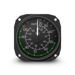 Helicopter air speed indicator