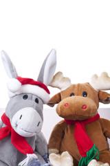 Elch und Esel (xmas)