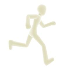 run right white