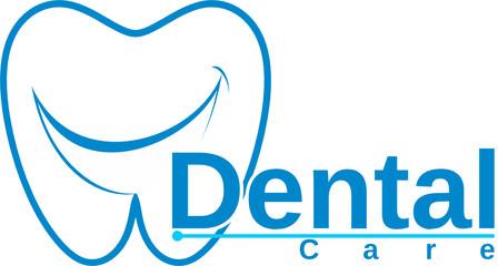 smiling molar dental logo