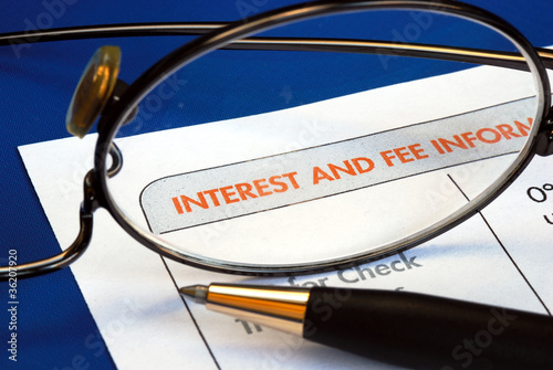Find out the interest and fee information