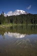 Mt. Rainier and Reflection Lake