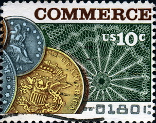 Commerce. US Postage.