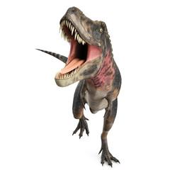 tarbosaurus attack