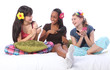 Slumber party make up games for teenage girls