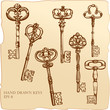 Set of Antique Keys