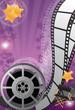 Movie background vertical
