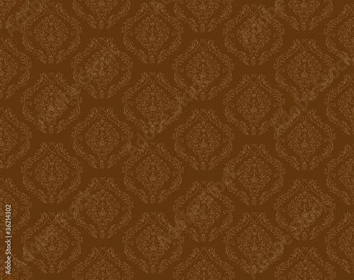 Hintergrund tapete ornament muster braun von sunt for Tapete muster braun