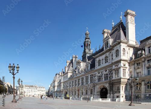 Hotel de ville de Paris - France
