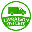 camion livraison offerte - vert