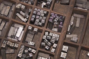 Lettres d'imprimerie