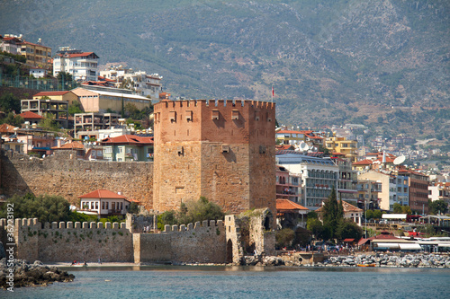 alanya castle view