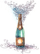 holiday champagne (series C)