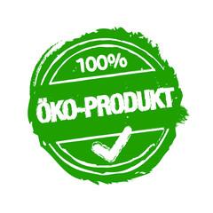 Okö-Produkt Stempel grün