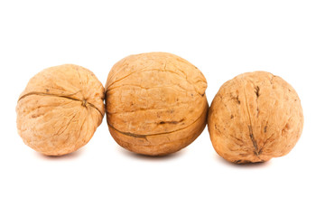 Three walnuts