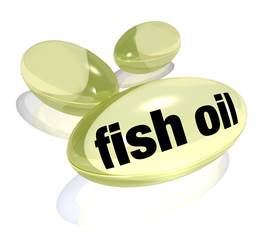 Fish Oil Capsules Omega-3 Fatty Acid Pills  Preventing Disease