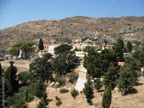 village in Crete mountains