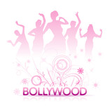 Fototapety bollywood en rose