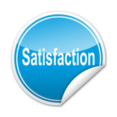Pegatina Satisfaction con reborde