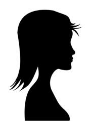 Silhouette donna