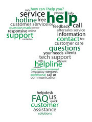 """HELP"" Tag Cloud (question mark support hotline button sos faq)"
