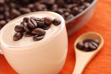 yogurt al caffè - uno