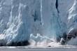 effondrement de  glacier, Alaska