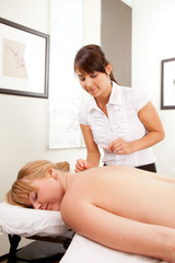 Acupuncturist Woman