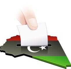 Élection en Libye (détouré)